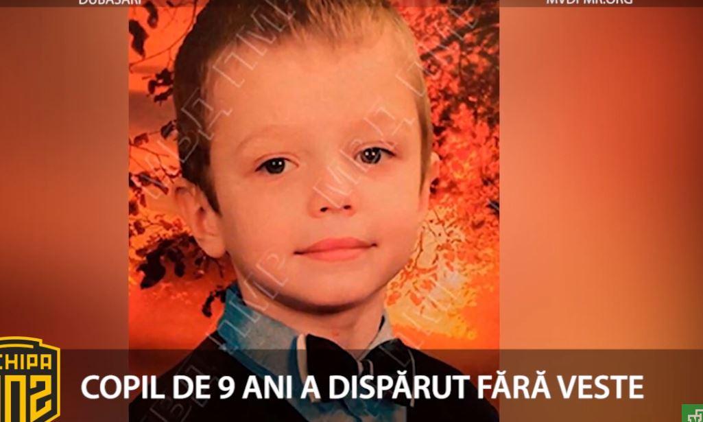 Alertă! Un copil de 9 ani a dispărut fără urmă